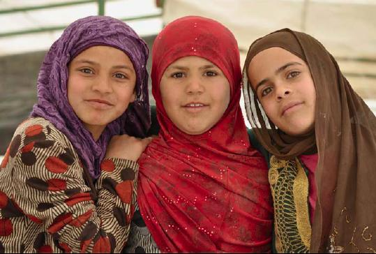 Young Women of al-Araqib, Photo by Stephen Kerpen